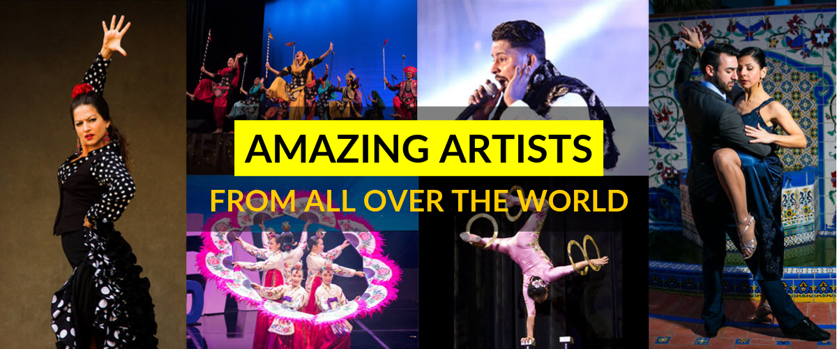 Amazing artists from all over the world